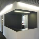 banque d'accueil dans un cabinet d'architecture