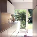 La cuisine moderne dans une maison année 30