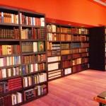 bibliotheque dans un hotel de luxe à rouen