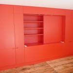 mobilier de rangement dans une chambre